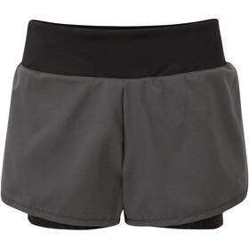 Dare 2b Outrun Shorts Women ebony grey/black
